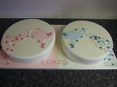 baptism cake for twin boy and girl | Recent Photos The Commons Getty Collection Galleries World Map App ...