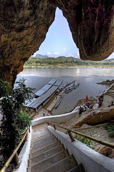 Stairway To Heaven . Mekong River Laos