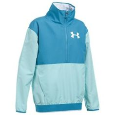 Under Armour Train to Game Jacket for Girls - Blue Infinity/Blue Shift - L