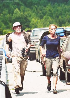 "Dale and Andrea - Season 2/1 - ""What Lies Ahead"""