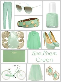 um is it a problem that I don't hate anything on this picture?! I'm obsessed with sea foam green. ALL OF YOU BE MINE