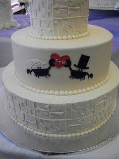 Baltimore Wedding Cake Utz Girl Mr Boh Love Project Maryland Weddings