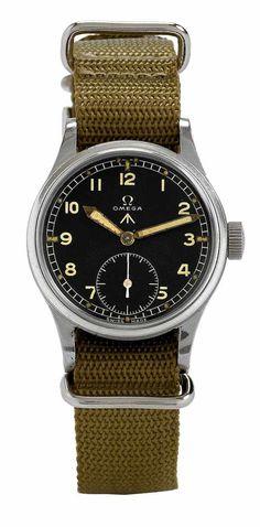 1944 Omega British Military Aviator Watch