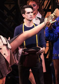 Brendon Urie As Charlie Price in Kinky Boots!