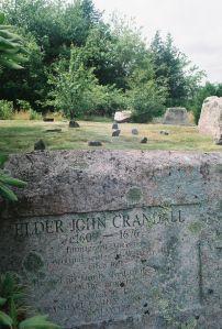 One of my G-G-Grandfathers. Elder John Crandall Memorial Stone, Westerly, RI