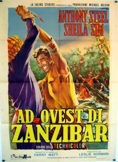WEST-OF-ZANZIBAR-ANTHONY-STEEL-1954-HARRY-WATT-16200-POSTER