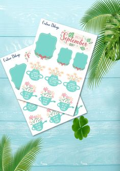 Types Of Journals, Creative Outlet, Printable Stickers, Stuff To Do, September, Bloom, Paper Crafts, Spring, Floral