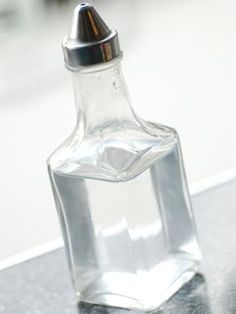 White Vinegar: Drains: Pour 1/2c baking soda in drain, followed by 1/2c V; Mildew on shower curtains: Put curtain in washing machine with light-colored towels; add 1c V to detergent and wash. Toilet hard-water: Shut off tank water, flush. Spray on rings, sprinkle in borax and scrub with drywall sandpaper.  Shower head deposits: Pour V into plastic bag, tape to shower head overnight.