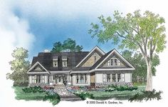 Browse cool bungalow house plans now! We offer Craftsman bungalow floor plans, small 3 & 4 bedroom bungalow style designs, open concept bungalow homes & Craftsman Bungalow House Plans, Bungalow Floor Plans, Cottage Style House Plans, Bungalow Homes, Craftsman Style House Plans, Ranch House Plans, Small House Plans, House Floor Plans, Farm House