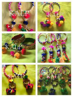 Wedding Unique, Unique Weddings, Diy Jewellery, Jewelry Design, Handmade Necklaces, Handcrafted Jewelry, Fasion, Women's Fashion, Silk Thread Bangles