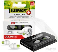 SleepSoft+ Ohrstöpsel sind die ersten und einzigen Ohrstöpsel auf dem Markt, die weiche Filter besitzen.
