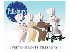 PILLSBURY DOUGH BOYS Magnet