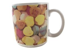 Remind them they are your Sweetheart every day with this Sweethearts Candy Conversation Hearts Russ Berrie Coffee Mug #RussBerrie