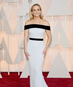 See the chicest looks of the star-studded evening at the Oscars 2015, Reese Witherspoon in Tom Ford.