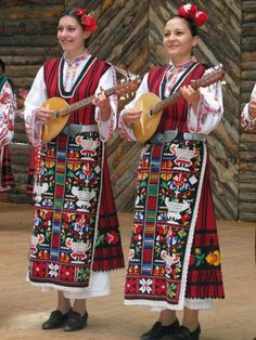 Traditional Bulgarian dress   - Explore the World with Travel Nerd Nici, one Country at a Time. http://TravelNerdNici.com