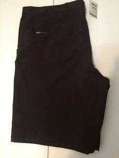 f37eeb09598e3 Hurley Nike Dri Fit Purple Burgundy Casual Shorts Men s size 40 New   fashion  clothing