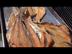 Mullet for the smoker..... - YouTube