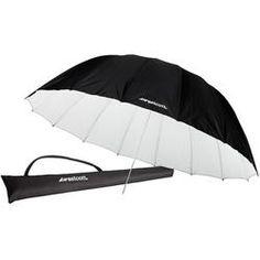 Westcott 7' Parabolic Umbrella - fantastic light softener, comes in white/black, silver, and white