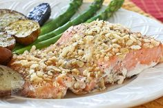 Crusted Baked Salmon