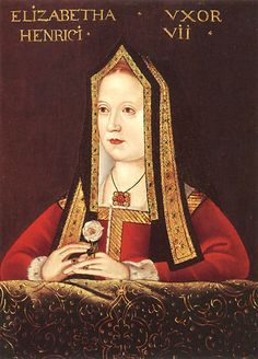Elizabeth of York~ Daughter of Edward IV and Elizabeth Woodville. Born 11 February 1466, Westminster Palace. Married to Henry VII: 18 Janurary 1486 Westminster Abbey. Coronation as Queen Consort: 25 November 1487, Westminster Abbey. Died: 11 February 1503, Tower of London. Buried: 23 February 1503 Lady Chapel, Westminster Abbey.