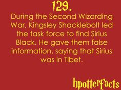 Harry Potter facts! 129
