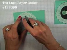 Simply Simple FLASH CARD - Embossed Clay Flower by Connie Stewart - YouTube