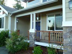 Paint your front door navy blue! | Engineering A Home