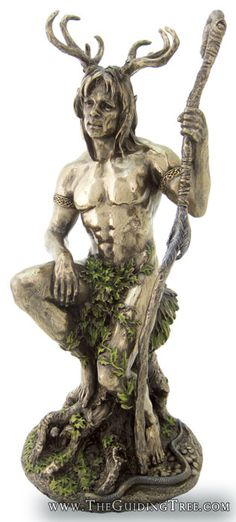 ☆ Cernunnos = Herne the hunter is an Ancient forest lord associated with the Windsor Forest. He is revered as the protector of the trees, and known in Celtic mythology as the God of nature, fertility, life, and animals.。☆