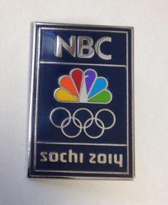 NBC Sochi Olympic Pin. Nbc Olympics, Winter Olympics, Entertainment, Winter Olympic Games, Entertaining