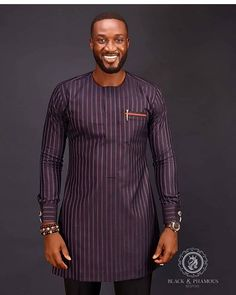 Latest African native wears for men - DarlingNaija African Wear Styles For Men, African Shirts For Men, African Dresses Men, African Attire For Men, African Clothing For Men, Latest African Fashion Dresses, African Print Fashion, Africa Fashion, African Style