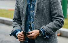 The denim jacket trend is here to stay so here's our key denim jacket layering techniques to keep you ahead of the style stakes this month.