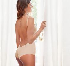 Low Back Body in Beige Nude