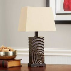 Better Homes and Gardens Thumbprint Lamp, Oil Rubbed Bronze Rose Garden Portland, Organic Gardening Magazine, Better Homes And Gardens, Oil Rubbed Bronze, Table Lamp, Home And Garden, Lighting, Eclectic Bedrooms, Country Decor