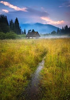 really nice The Upper Hron region in Slovakia... right under mountain Kráľova Hoľa (by Marek Švantner)