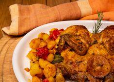 Pollo alla diavola al forno, semplice e saporito Tuscan Recipes, Tandoori Chicken, Meat Recipes, Chicken Wings, Traditional, Dishes, Baking, Ethnic Recipes, Toscana