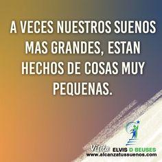 Encuentra mas en www.alcanzatussuenos.com #actitud #esperanza #buenavibra…