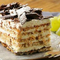Quick biscuit cake