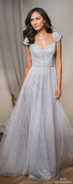 48a0bee88577 5 Bridesmaid Dress Designers We Love for 2018. Grey Bridesmaids