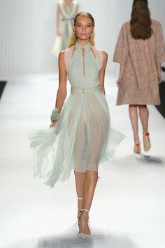 J. Mendel - Runway - Spring 2013 Mercedes-Benz Fashion Week