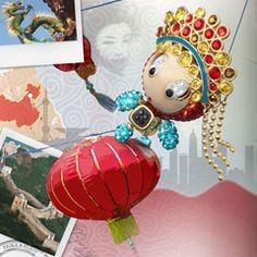 Erika China Pendant #swarovski - this one is very pretty