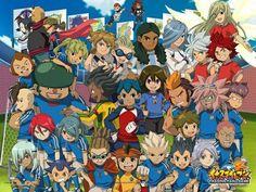 Inazuma Eleven, Inaire, Anime, Soccer - Endou Mamoru, Gouenji Shuuya, Kidou Yuuto, Fubuki Shirou, Kiyama Hiroto, Kazemaru Ichirouta,