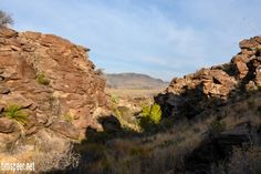 Burrow Mesa Pouroff trail. Big Bend National Park, Texas. Photography by Tim Speer