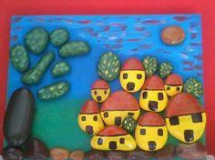 PAESAGGIO DI SASSI E COLORI, by florcreativity, 20,00 € su misshobby.com