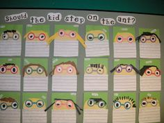 Love this Ant Opinion writing and more cute insect ideas for kindergarten!