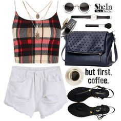 SheIn19 by m-zineta on Polyvore featuring moda, Boohoo, Chanel, Ole Mathiesen, NARS Cosmetics and D&G