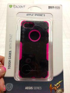 Trident Aegis Apple Iphone 5 5s Rugged Case Pink Black Urban Sassy | eBay