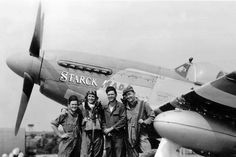 P-51 Mustang of 352nd Fighter Group Nose Art 1944 BFD