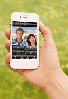 Homeplaza - TKM App macht die Türkommunikation mobil - Schau' wer kommt von draußen rein