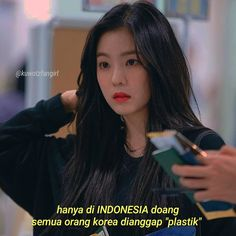 #Pathdaily__kpop {IreneRedVelvet} Quotes Lucu, Bts Quotes, Tumblr Quotes, Jokes Quotes, Memes, Caption Tumblr, Deep Tumblr, Quotes Deep That Make You Think, Korean Quotes