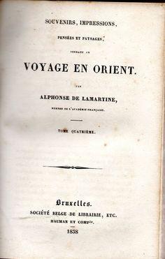 Voyage en Orient (IV Tomos) | VITALIVROS / Alfarrabista